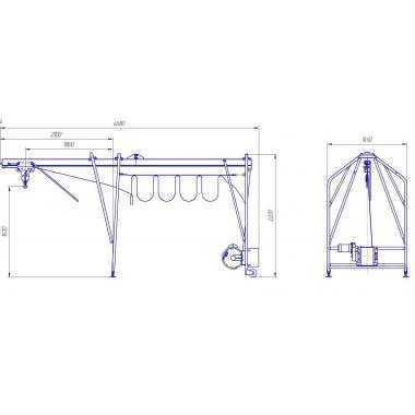 Кран строительный умелец 320-50