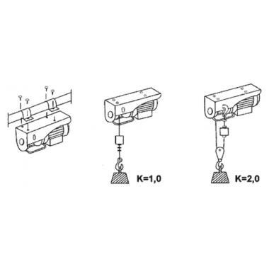 Таль электрическая РА - 125кг - 12м - 220в